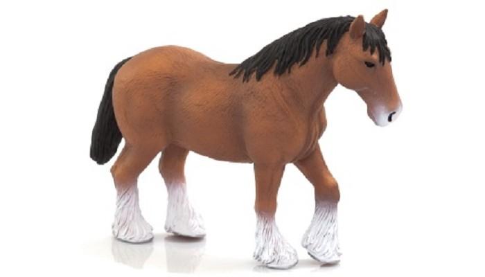 Mojo Animal Planet Лошадь коричневая клейдесдальской породы XL 387070