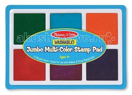 Наборы для творчества Melissa & Doug Творчество Набор больших цветных печатей наборы для творчества melissa