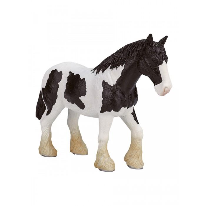 Mojo Animal Planet Лошадь чёрно-белая клейдесдальской породы XL 387085
