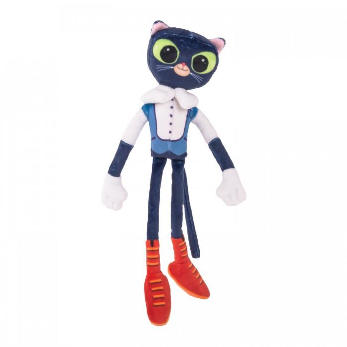 Купить Мягкие игрушки, Мягкая игрушка Сказочный Патруль Кот ученый со звуком 32 см