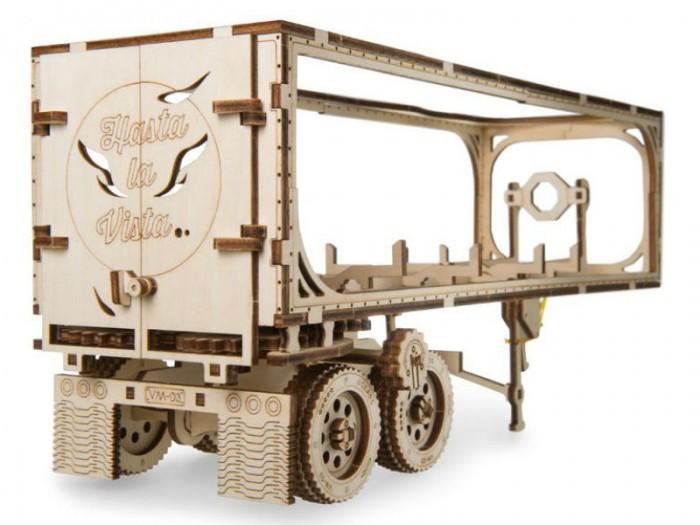 Конструктор Ugears 3D-пазл Полуприцеп к модели Тягач VM-03