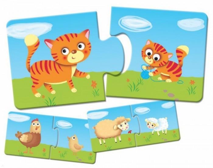 Пазлы Lisciani Пазл Логика для малышей логическое творчество творческая логика логика развитие речи комплект из 4 книг