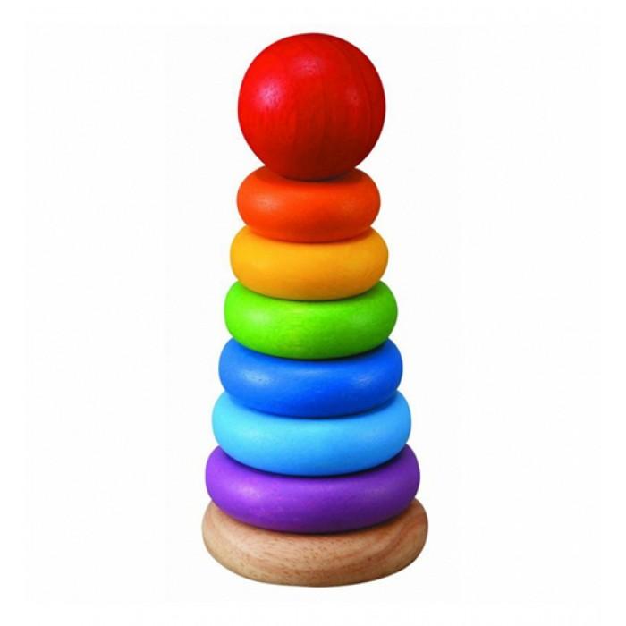 Развивающая игрушка Plan Toys Классическая деревянная пирамидка