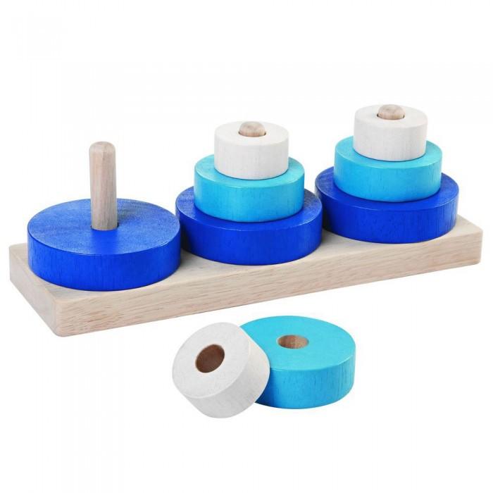 Развивающая игрушка Plan Toys Пирамидка Трио