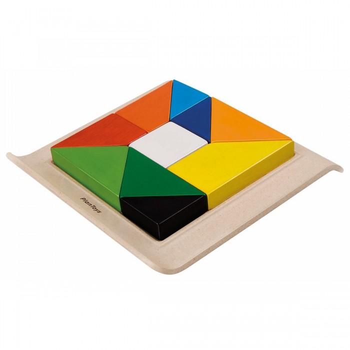 Деревянные игрушки Plan Toys Рамка-вкладыш Геометрические фигуры