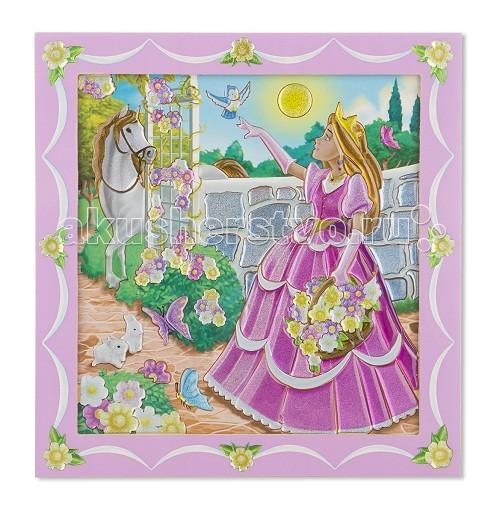 Раскраски Melissa & Doug по номерам Принцесса в саду раскраски melissa