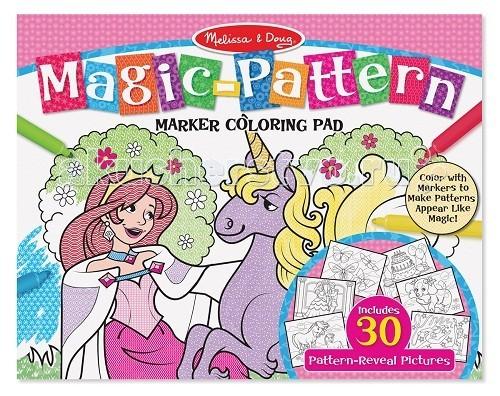 Раскраска Melissa & Doug Раскрась по шаблону розовая фото