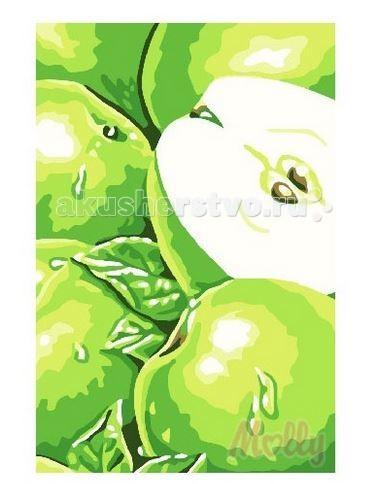 Картины по номерам Molly Картина по номерам Яблоки 20х30 см molly мозаичная картина зеленая долина 40х50 см