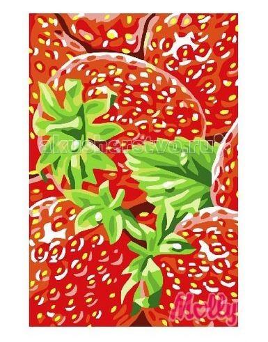 Картины по номерам Molly Картина по номерам Клубника 20х30 см molly мозаичная картина зеленая долина 40х50 см