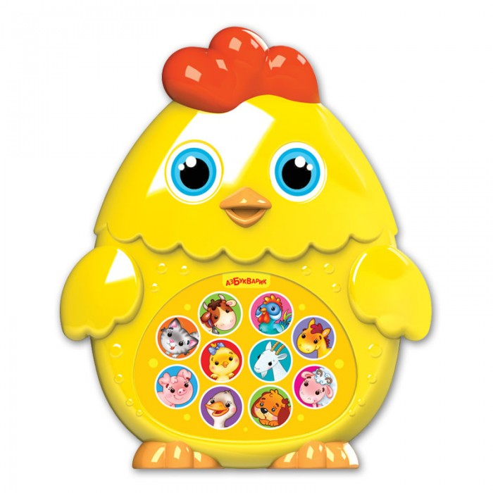 Электронные игрушки Азбукварик Плеер Цыпленок азбукварик 2216 зверята малышата цыпленок