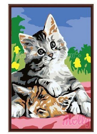Картины по номерам Molly Картина по номерам Котята 20х30 см