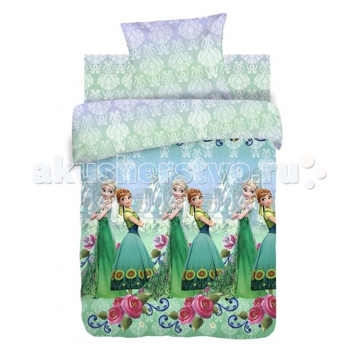 Постельное белье Непоседа Холодное сердце Анна и Эльза(3 предмета)