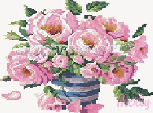 Molly Мозаичная картина Утренний букет 40х50 смМозаичная картина Утренний букет 40х50 смМозаичная картина Molly Утренний букет 25 цветов - оригинальный набор, позволяющий создать первую картину, благодаря поэтапной выкладке мозаикой полотна.    В наборе:    Тканевый холст с клеевым слоем и с нанесенной схемой рисунка;  Металлический пинцет;  Пластиковый контейнер для элементов мозаики;  Специальный карандаш;  Клей-липучка для карандаша;  Комплект разноцветных мозаичных элементов диаметром 2,5 мм;   Размер: 40 х 50 см Количество цветов: 25 Уровень сложности: трудный<br>