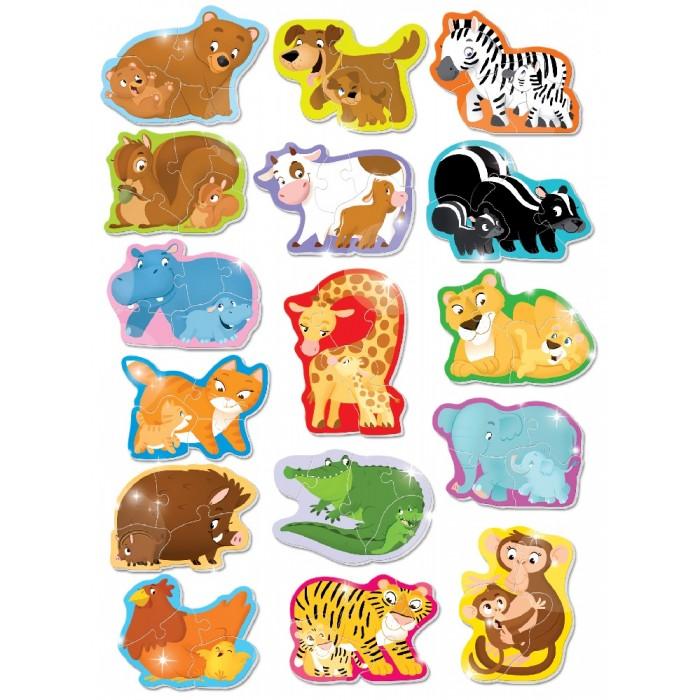 Купить Пазлы, Lisciani Пазл Животные и детёныши