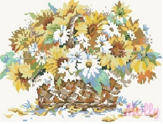 Картины своими руками Molly Мозаичная картина Краски лета 40х50 см картины своими руками molly мозаичная картина портрет леопарда 40х50 см