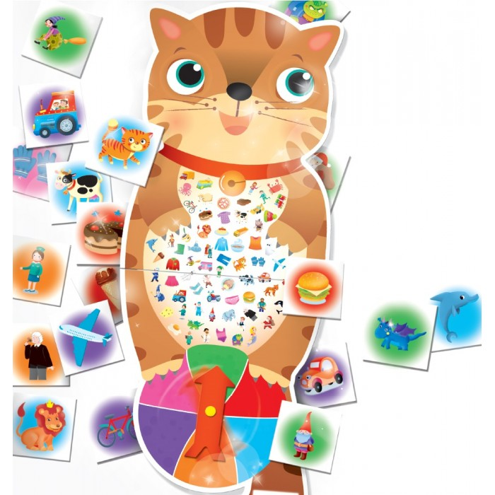 Купить Настольные игры, Lisciani Обучающая игра Умный кот