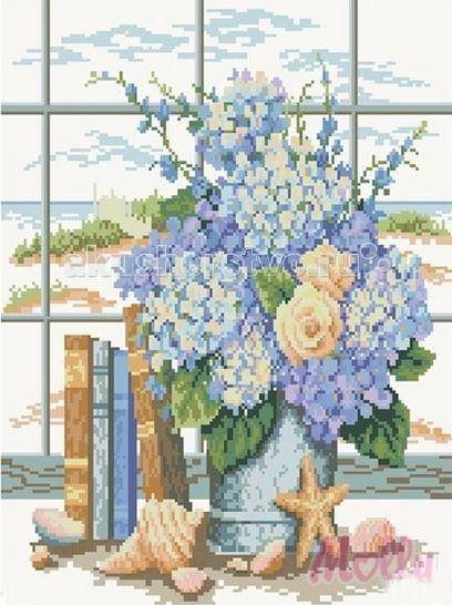 Molly Мозаичная картина Морской букет 40х50 см
