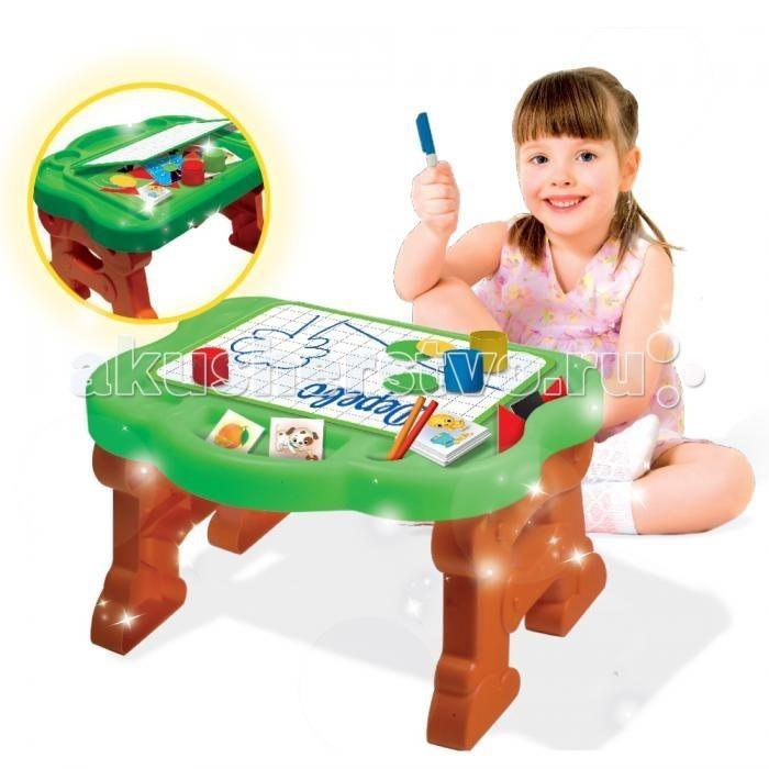 Пластиковая мебель Lisciani Многофункциональный игровой столик 30 Игр
