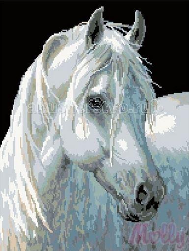 Molly Мозаичная картина Белоснежка 40х50 см