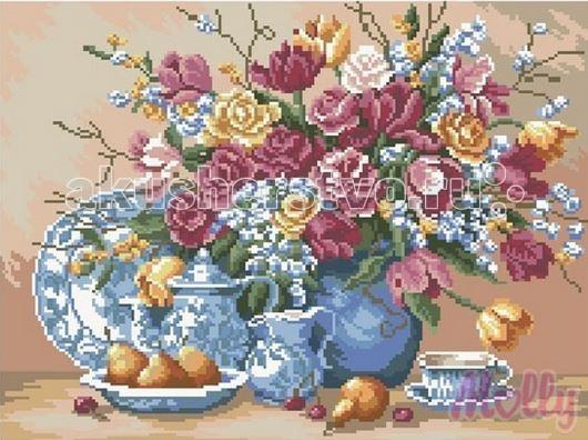 Картины своими руками Molly Мозаичная картина Летний натюрморт 40х50 см