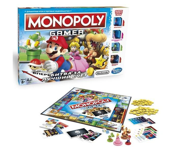 Купить Настольные игры, Monopoly Игра настольная Геймер