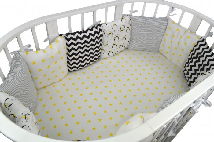 Бортик в кроватку Forest Funny Penguins