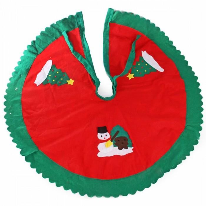 Фото - Новогодние украшения Веселый хоровод Покрывало для декорирования основания елки 90 см покрывало umbritex покрывало kilim3 цвет белый 180х280 см