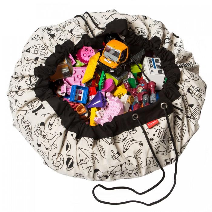 Купить Ящики для игрушек, Play&Go 2 в 1: мешок для хранения игрушек и игровой коврик Раскрась меня