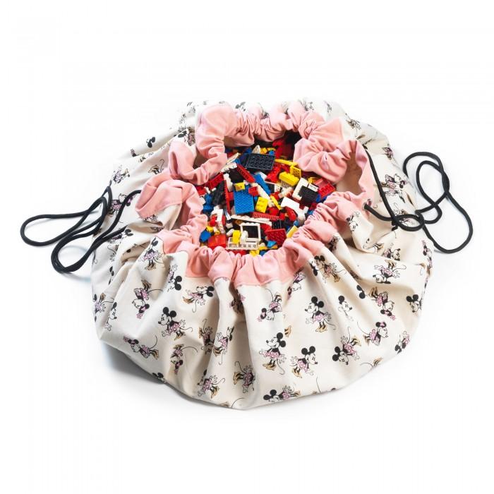 Play&Go 2 в 1: мешок Disney Minnie Gold для хранения игрушек и игровой коврик