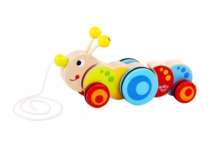 Каталка-игрушка Tooky Toy Гусеница TKC419