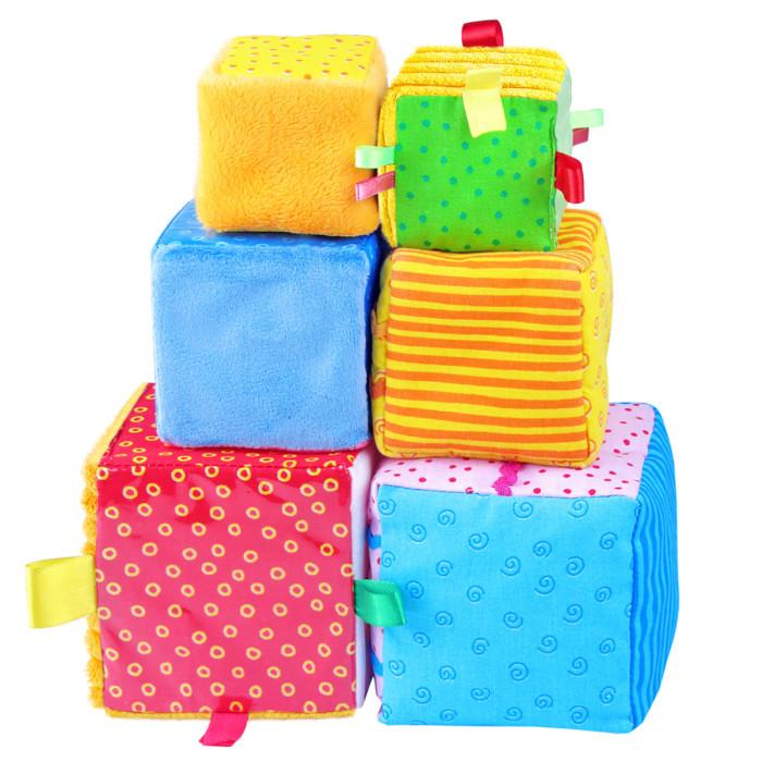 Развивающие игрушки Мякиши Умные кубики 6 шт. simba развивающие кубики 0 6
