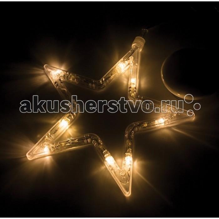 Neon-Night Фигура светодиодная Звездочка на присоске 18.5x18.5 см