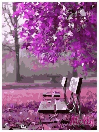 Картины по номерам Molly Картина по номерам Малиновое цветение 40х50 см картины в квартиру картина etude 2 102х130 см