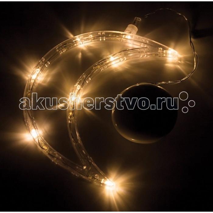 Новогодние украшения Neon-Night Фигура светодиодная Месяц 18.5x14.5 см