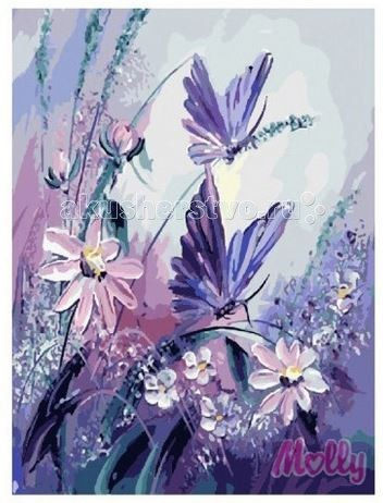 Картины по номерам Molly Картина по номерам Танец ветра 40х50 см наборы для рисования цветной картины по номерам танец пары