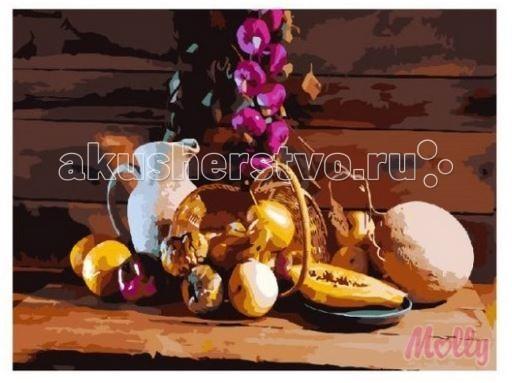 Картины по номерам Molly Картина по номерам Деревенский натюрморт 40х50 см картины в квартиру картина etude 2 102х130 см