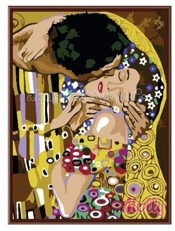 Картины по номерам Molly Картина по номерам Поцелуй Климт 40х50 см картины в квартиру картина etude 2 102х130 см