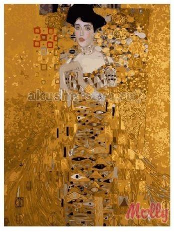 Картины по номерам Molly Картина по номерам Адель Климт 40х50 см картины в квартиру картина etude 2 102х130 см