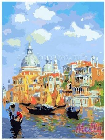 Картины по номерам Molly Картина по номерам Утренняя гавань 40 х 50 см картины в квартиру картина etude 2 102х130 см