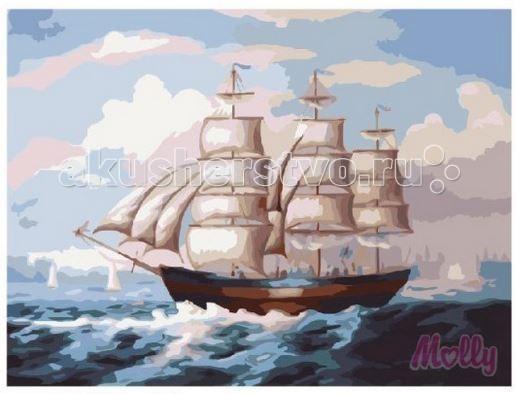 Картины по номерам Molly Картина по номерам Легкий бриз 40х50 см картины в квартиру картина etude 2 102х130 см