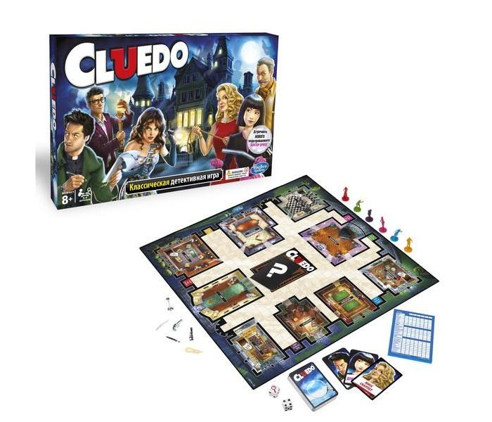 Other Games Игра настольная Клуэдо