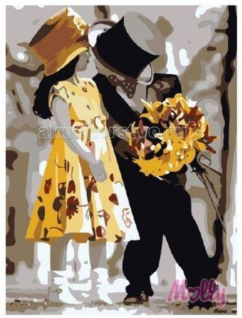 Картины по номерам Molly Картина по номерам Ухаживание 40х50 см картины в квартиру картина etude 2 102х130 см