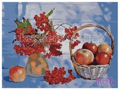 Картины по номерам Molly Картина по номерам Осенний натюрморт 40х50 см
