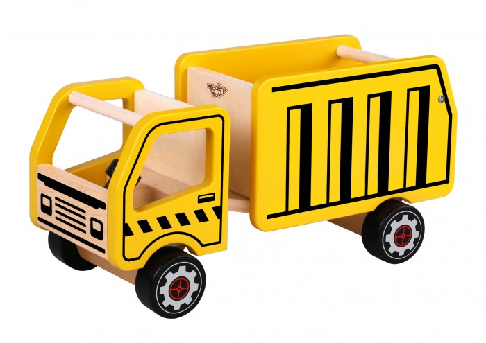 Деревянная игрушка Tooky Toy Грузовик TKF098 фото