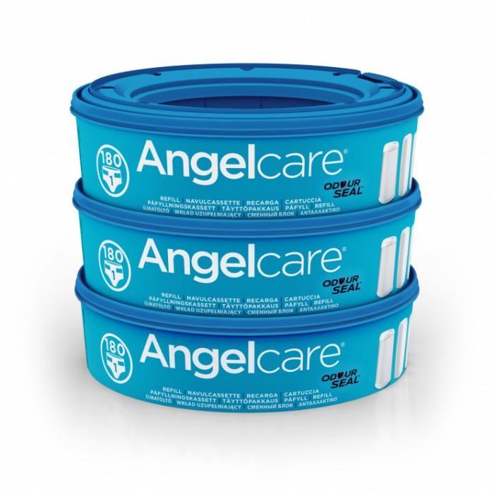 Гигиена и здоровье , Утилизаторы подгузников Angelcare Кассеты для накопителя подгузников AR9003-EU 9 (3 шт.) арт: 6339 -  Утилизаторы подгузников