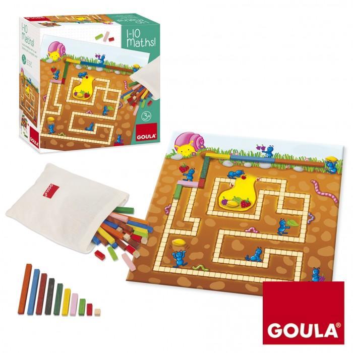 Купить Деревянные игрушки, Деревянная игрушка Goula Развивающая игра Математика