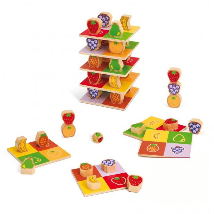 Купить Деревянные игрушки, Деревянная игрушка Goula Игра Фруктовая башня