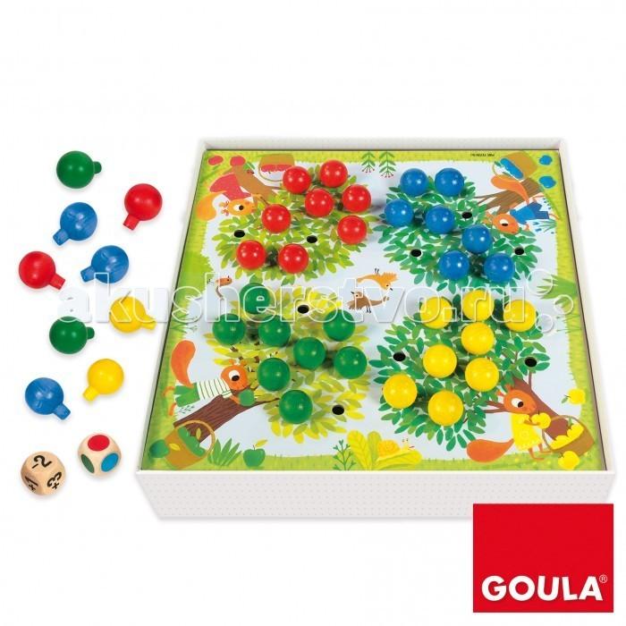 Купить Деревянные игрушки, Деревянная игрушка Goula Развивающая игра Яблоки+