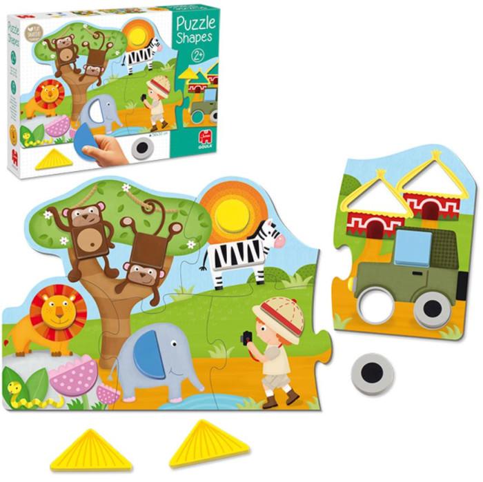 Купить Деревянные игрушки, Деревянная игрушка Goula Пазл Формы