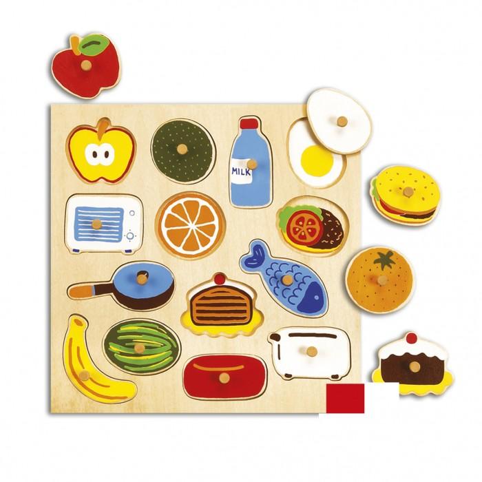 Деревянные игрушки Goula Рамка-вкладышКухня